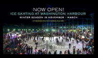 2 Ice Skating Tickets at Washington Harbour Ice Rink
